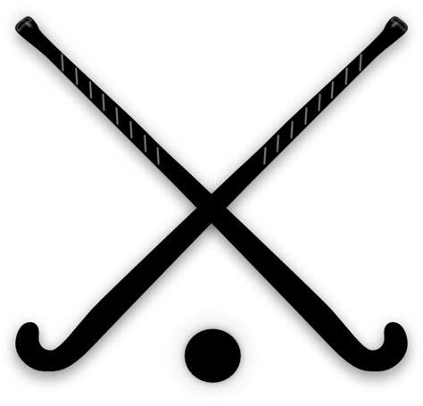 field hockey crossed field hockey sticks clip at clker vector