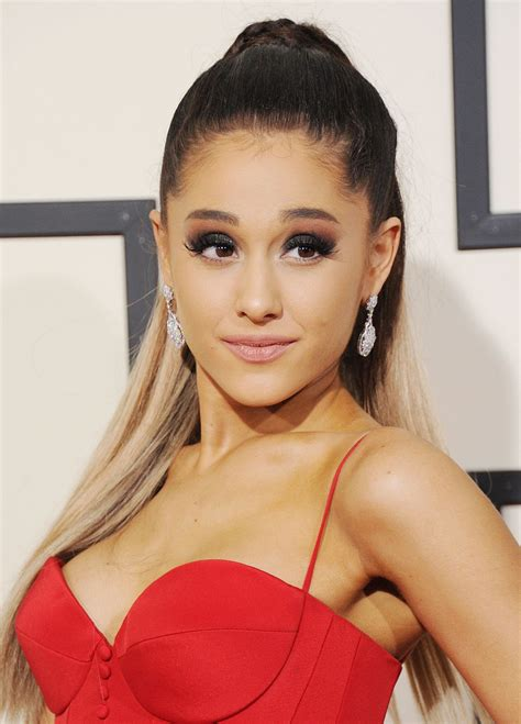ariana grande ariana grande 2016 grammy awards in los angeles ca