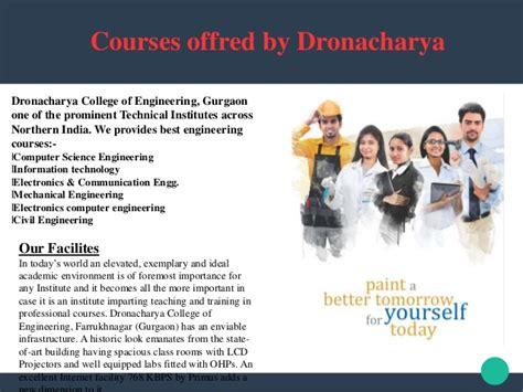 Aicte Approved Mba Colleges Ranking by Dronacharya Of Institution Is An Aicte Approved One