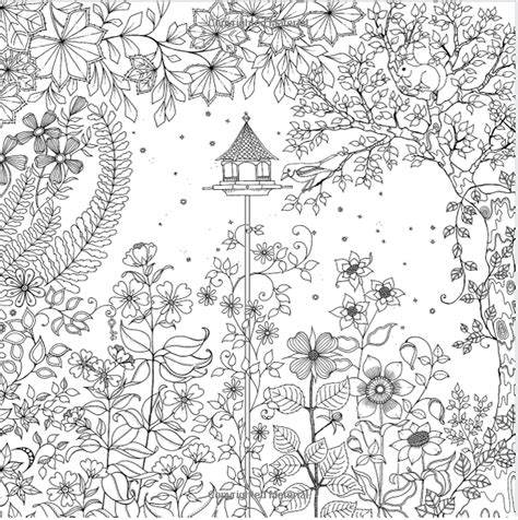 coloring pages of secret garden free secret garden coloring pages