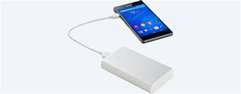 how to use sony portable charger portable usb charger cp s15 sony uk