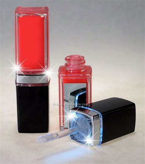 lip gloss with light and mirror led lip gloss with mirror wholesale china