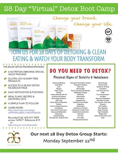 Detox Diet To Cleanse Skin by 28 Day Detox Diet Arbonne Skin Christmasgala