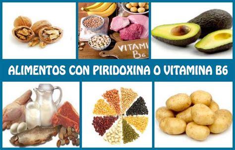 alimentos que contengan vitamina b6 alimentos ricos en piridoxina o vitamina b6 su