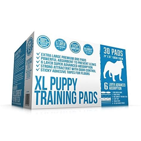 xl puppy pads bulldogology 30 xl premium puppy pads and pad with adhesive sticky