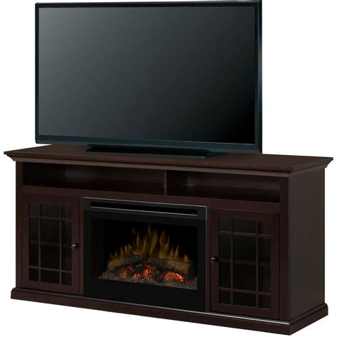 62 electric fireplace dimplex hazelwood 62 inch electric fireplace media console espresso gds25 1388dr fireplace