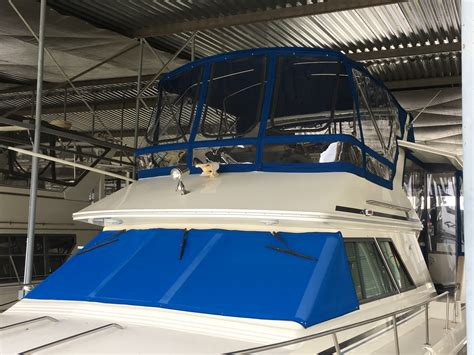 custom boat covers knoxville flybridge enclosures for power cruisers by concord custom