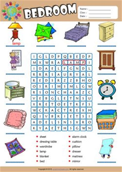 bedroom vocabulary english 3334 best images about school on pinterest present