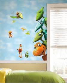Wall mural enliven your kids bedroom with dinosaur themed wall art
