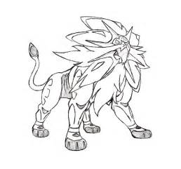 Solgaleo Picture Drawing  Images sketch template