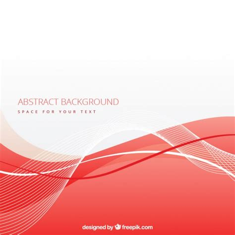 background vector merah abstract background with red wave vector free download