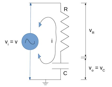 resistor capacitor series electronics with systems