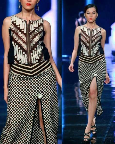 Blouse Katun Cokelat 584 ide batik kurasi oleh ndarmawan mantel pekan migguan model pakaian dan kebaya