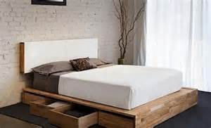 Build Platform Bed Storage by Diy Storage Beds The Budget Decorator