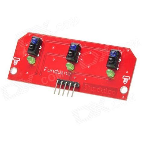 Line Tracking Sensor Module Tracking Module For Arduino Limite three line tracking sensor module board black free shipping dealextreme