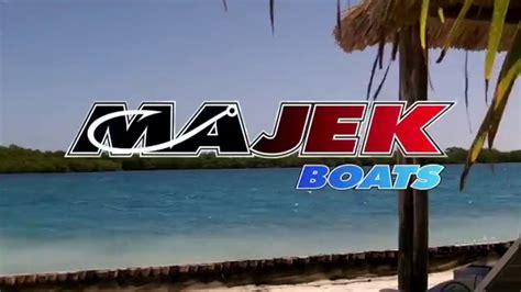 2014 majek boats owner s tournament on texas fisherman tv - Majek Boats Logo
