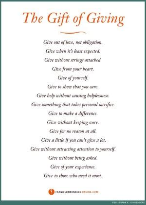 christmas gift giving quotes gift giving quotes quotesgram