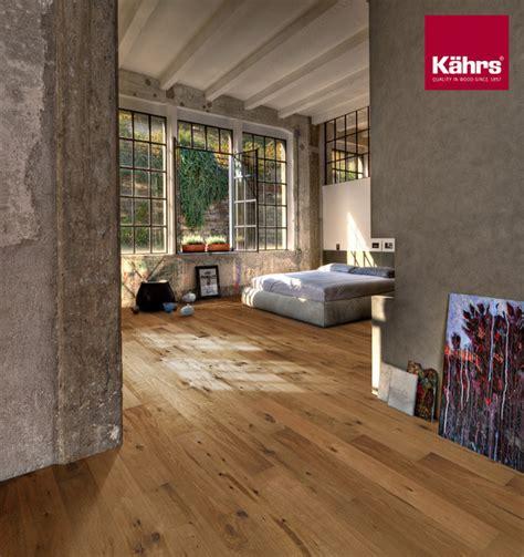schlafzimmer mit parkettboden artisan collection eiche camino rustikal