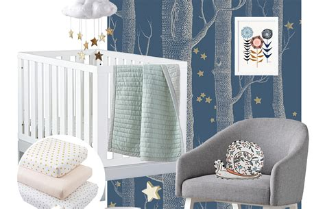 celestial crib bedding gray white celestial moon w baby unisex nursery 4 pc clouds sun and Celestial Crib Bedding