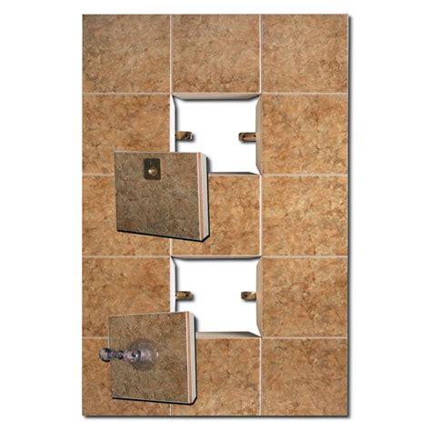 centro soffitti sportello easy da parete g1 ricoperto con mattonelle