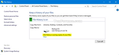 how to set up a backup in windows 8 10 steps with pictures
