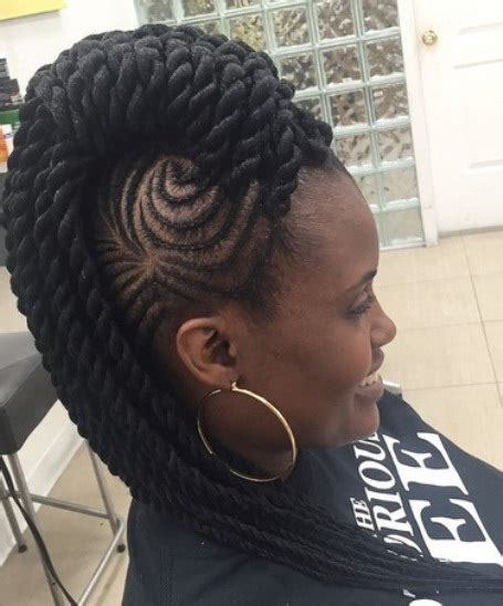images of hair braiding in a mohalk latest braided mohawk hairstyles and updos