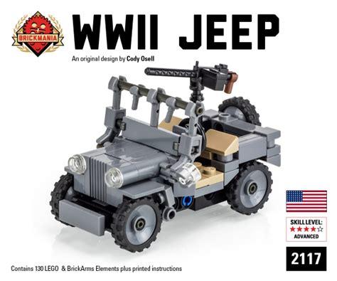 brickmania jeep bricker конструктор brickmania 2117 wwii jeep 2016 edition