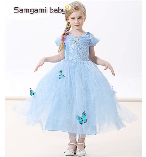 Samgami Baby Cinderella 10r cinderella dress 2016 arrival baby dresses european and american fashion dress