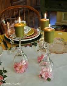 Wine Glass Table Decoration by Knot Notes