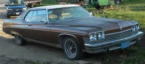 74 Buick Electra 1974 Buick Electra Limited