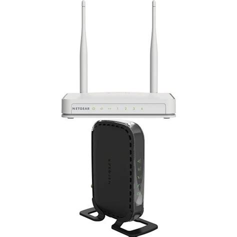 Antena External Modem netgear n300 wi fi router with high power 5dbi external antennas and high speed docsis 3 0 cable