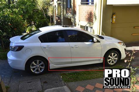 mazda o estribos mazda 3 all new sedan y hb en plastico nuevos