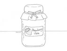 Jam Coloring Pages strawberry jam coloring page wee folk