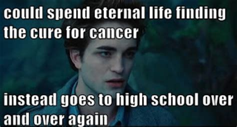 Funny Cancer Memes - edward could have the cure for cancer dr heckle