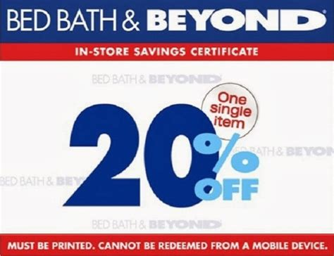 bed bath and beyond coupons 2014 printable coupons 2014 latest and free in store printable