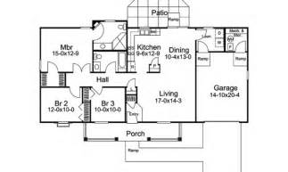 Basic Ranch Floor Plans basic ranch house plans house plans 40387 on basic ranch floor plans