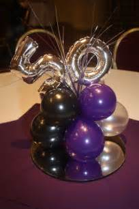 50th birthday centerpieces for