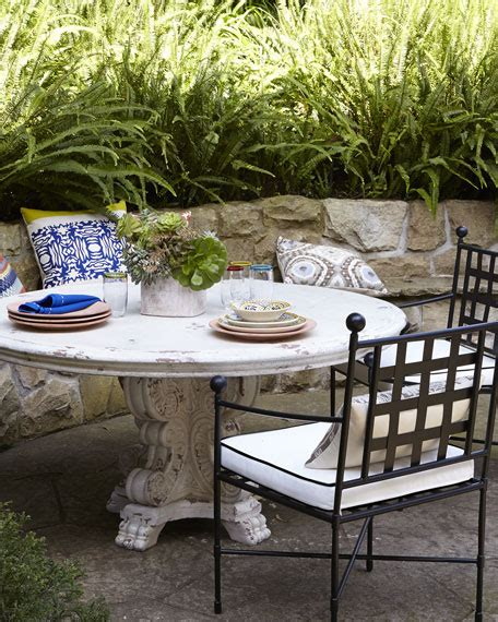 60 outdoor table dining table avery dining chair