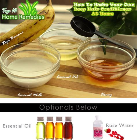 Handmade Conditioner - diy banana hair conditioner top 10 home