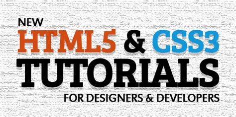 20 fresh css3 tutorials web design ledger fresh html5 and css3 tutorials for designes and developers