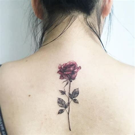 rose tattoo on spine 25 best ideas about tattoos on