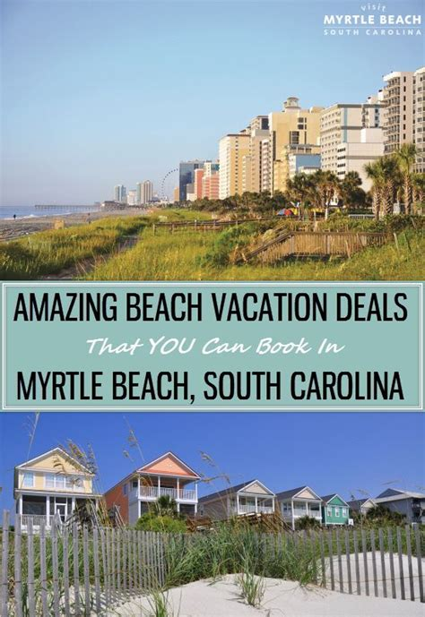 myrtle vacation deals that you can book for your