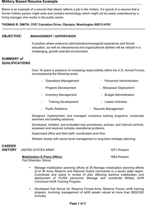 special infantryman resume for free page 4 formtemplate