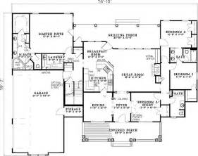 What Is A Split Floor Plan by Split Bedroom Floor Plans Bukit