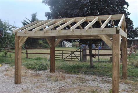 backyard shelters wooden garden shelter frame hot tub car port canopy kit