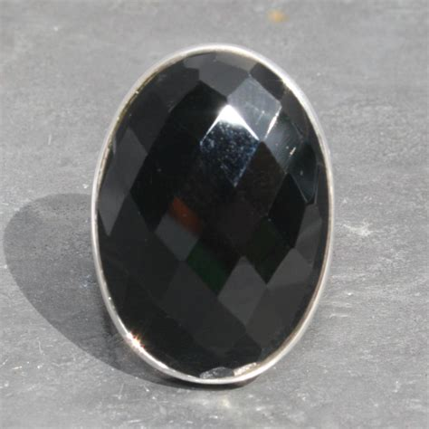 faceted onyx onyx faceted ring lumina jewellery