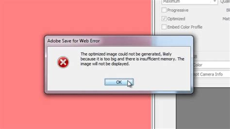 adobe illustrator cs6 unknown error when saving photoshop insufficient memory fixed youtube