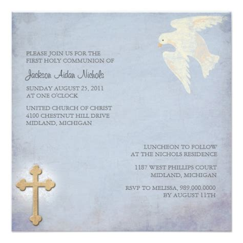 holy communion invitations templates communion