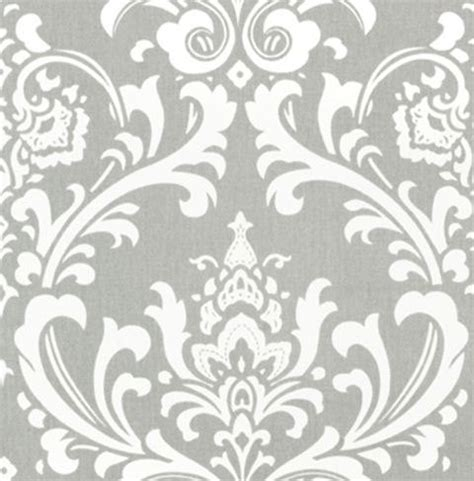 grey pattern curtain fabric gray curtain panels damask curtains drapery by