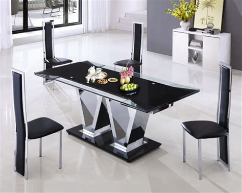 neo extending glass table